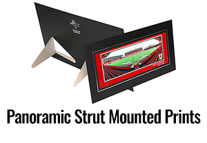 Panoramic Strut Mounted Prints