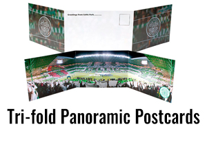 Trifold Panoramic Postcards